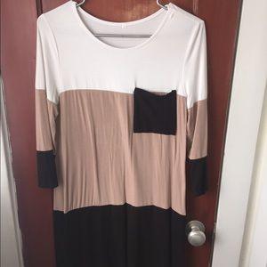 Long Sleeve T-Short Dress